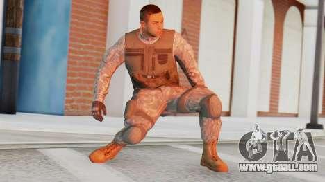 [GTA5] BlackOps1 Army Skin for GTA San Andreas
