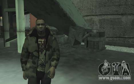Automotive junkyard v0.1 for GTA San Andreas eleventh screenshot