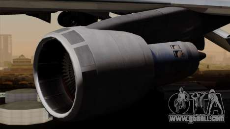 Boeing 747 PanAm for GTA San Andreas right view