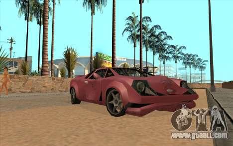 GTA VC Infernus SA Style for GTA San Andreas left view