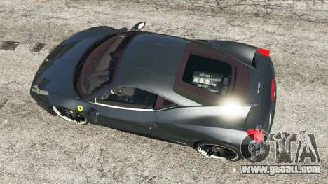 Ferrari 458 Italia v1.0.4 for GTA 5
