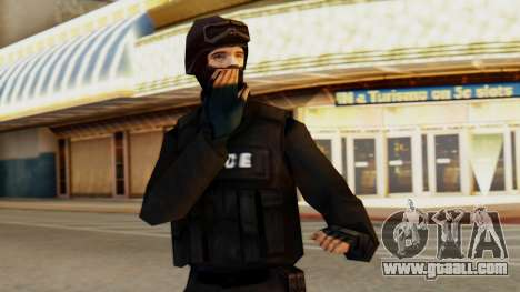 Modified SWAT for GTA San Andreas
