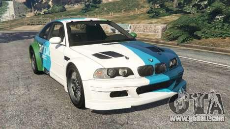 BMW M3 GTR E46 PJ1 for GTA 5
