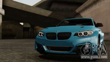 BMW M235i F22 Sport 2014 for GTA San Andreas engine