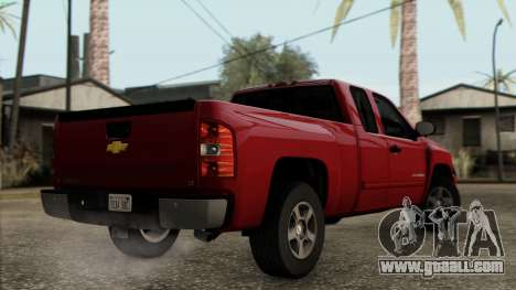 Chevrolet Silverado 1500 LT 2010 for GTA San Andreas left view