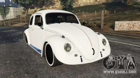 Volkswagen Beetle for GTA 5