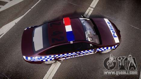Ford Falcon FG XR6 Turbo NSW Police [ELS] v3.0 for GTA 4 right view