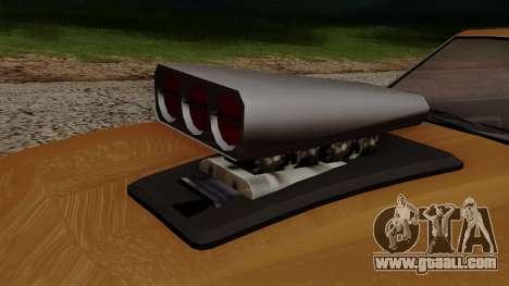 GTA 5 Declasse Vigero for GTA San Andreas inner view