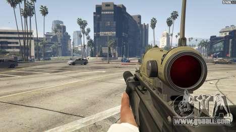 GTA 5 Battlefield 3 G36C v1.1 sixth screenshot