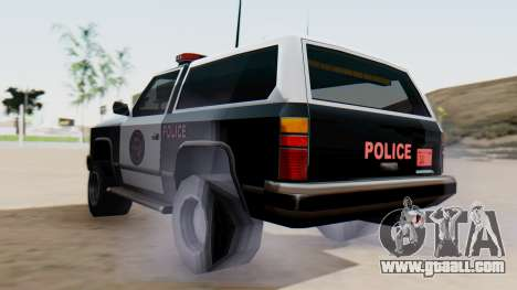 Police Ranger with Lightbars for GTA San Andreas left view