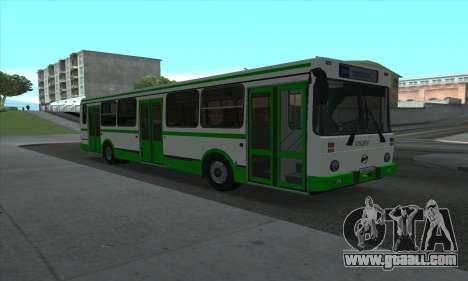 LiAZ 5256.35 for GTA San Andreas left view
