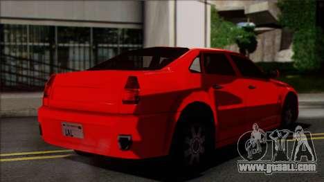 Chrysler 300C SA Style for GTA San Andreas left view