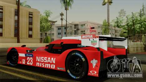 Nissan GTR LM LMP1 2015 for GTA San Andreas left view