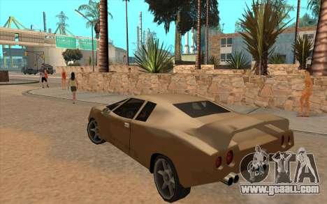 GTA VC Infernus SA Style for GTA San Andreas inner view
