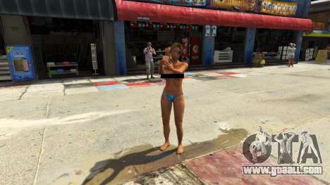 GTA 5 Additional models of people and vehicles 0.8 a third screenshot