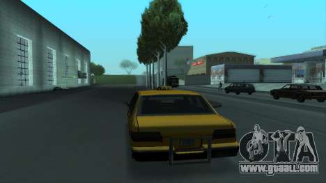 New Taxi for GTA San Andreas interior
