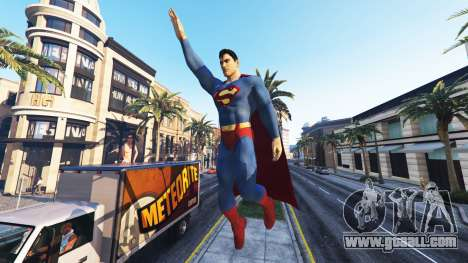 GTA 5 Statue Superman