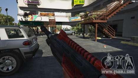GTA 5 M-76 Revenant из Mass Effect 2 third screenshot