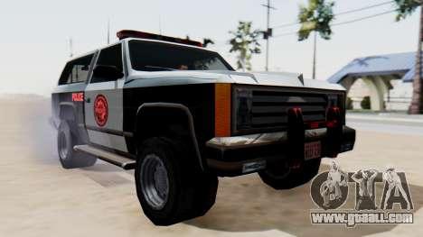 Police Ranger with Lightbars for GTA San Andreas