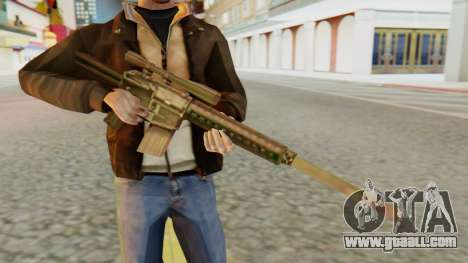 SR-25 SA Style for GTA San Andreas third screenshot