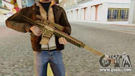 SR-25 SA Style for GTA San Andreas third screenshot