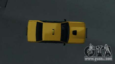 New Taxi for GTA San Andreas back view