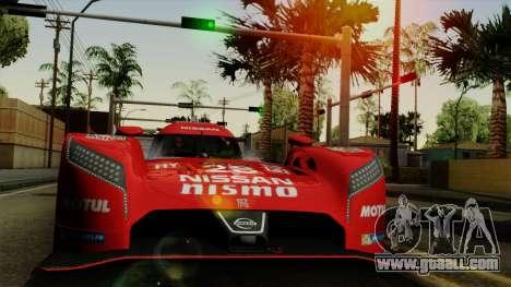 Nissan GTR LM LMP1 2015 for GTA San Andreas