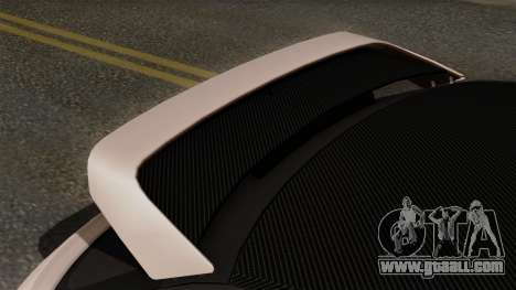 Audi A1 Quattro Clubsport for GTA San Andreas back view