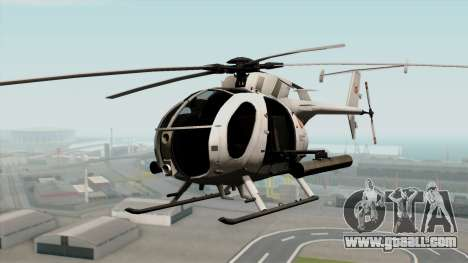 AH-6J Little Bird for GTA San Andreas
