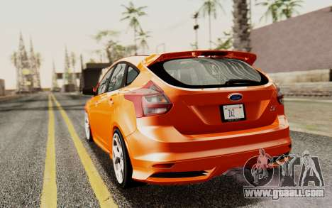 Ford Focus ST 2012 for GTA San Andreas left view