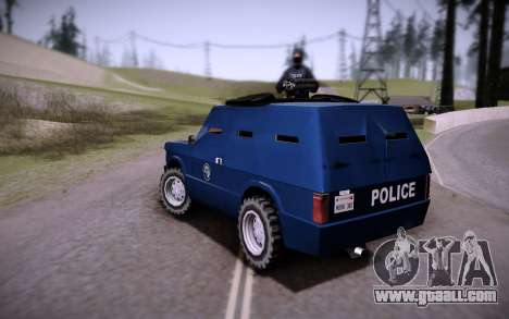 The Armored Car. for GTA San Andreas left view