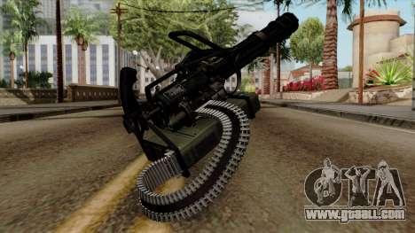 Original HD Minigun for GTA San Andreas second screenshot