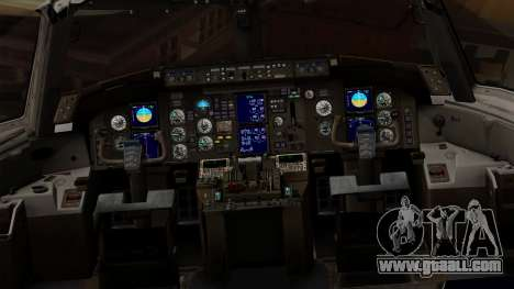 Boeing 757-200 (N757A) for GTA San Andreas inner view