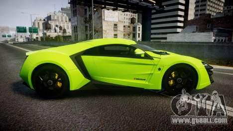 Lykan HyperSport 2014 [EPM] for GTA 4 left view