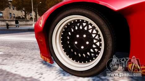 Mazda RX-7 RocketBunny EPM for GTA 4 back left view