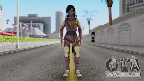 [MKX] Mileena for GTA San Andreas second screenshot