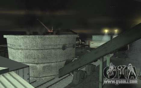 Automotive junkyard v0.1 for GTA San Andreas ninth screenshot