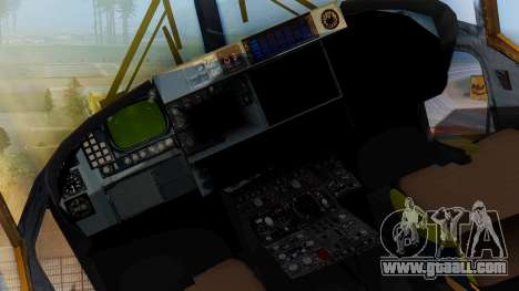 Westland SH-14D Lynx for GTA San Andreas right view