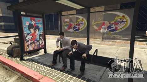 GTA 5 Downtown Anime Mod 1.3 fifth screenshot