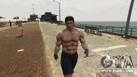 GTA 5 Additional models of people and vehicles 0.8 a ninth screenshot