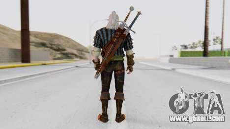 [The Witcher] Geralt for GTA San Andreas third screenshot