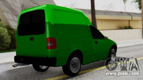 Chevrolet Combo 1.4 v2 for GTA San Andreas left view
