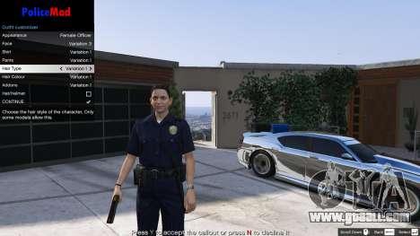 PoliceMod 2 2.0.2 for GTA 5