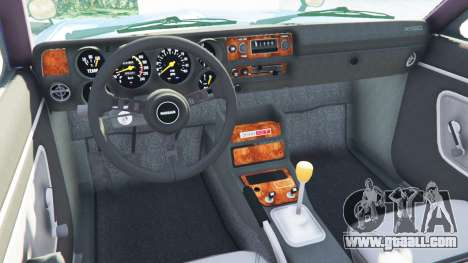GTA 5 Nissan Skyline 2000 GT-R 1970 v0.2 [Beta] rear right side view