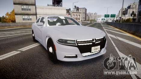 Dodge Charger 2015 Unmarked [ELS] for GTA 4
