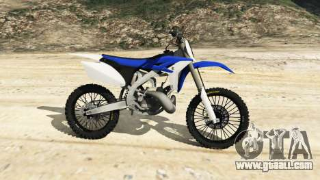 GTA 5 Yamaha YZ 250 [Beta] left side view