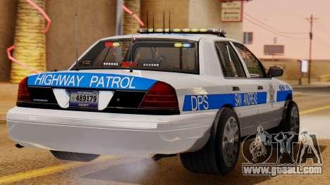 Police Ranger 2013 for GTA San Andreas left view