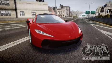 GTA V Progen T20 for GTA 4