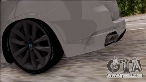 BMW X5 F15 BUFG Edition for GTA San Andreas inner view