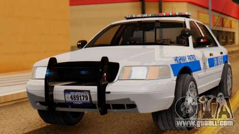 Police Ranger 2013 for GTA San Andreas